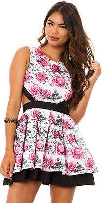 Hellz Bellz BOTB by The Loveless Dress in Floral Print