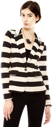 Aryn K Striped Jacket