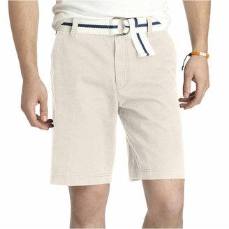 Izod Flat-Front Shorts