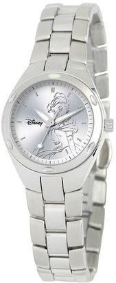 DISNEY Disney Fortaleza Belle Womens Silver-Tone Watch $99.99 thestylecure.com