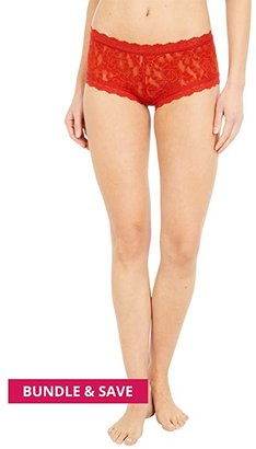 Hanky Panky Signature Lace Boyshort (Red) Women's Underwear