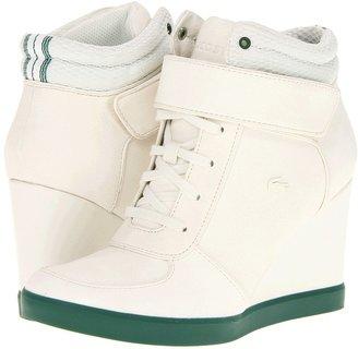 Lacoste Bernelle 4 (Off White/Green) - Footwear