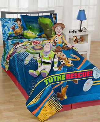 Disney Pixar Bedding, Toy Story Buzz Decorative Pillow