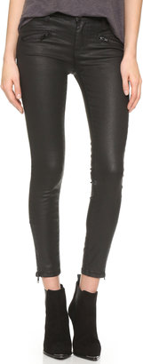 Current/Elliott The Soho Zip Stiletto Jeans $248 thestylecure.com