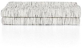 Calvin Klein Modern Cotton Collection Strata Marble Pillowcase Pair