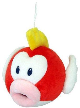 "Nintendo Official Mario Plush Series Stuffed Toy - 6"" Pukupuku / Cheep Cheep (Japanese Import)"