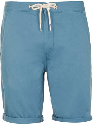 Topman Blue Chino Shorts