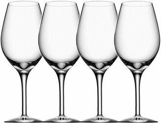Orrefors More Wine Glass, Set of 4