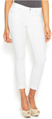 Rachel Roy Rolled Cropped Skinny Jeans