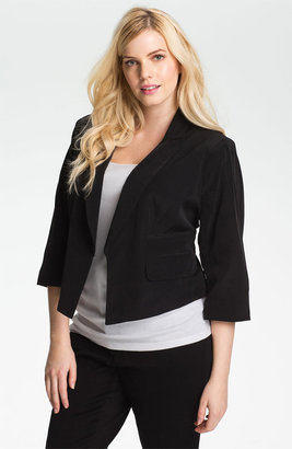 Kenneth Cole New York Crop Jacket (Plus)