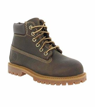 Timberland Authenic Waterproof, Boy's Boots, Brown, 5.5 UK (22.5 EU)