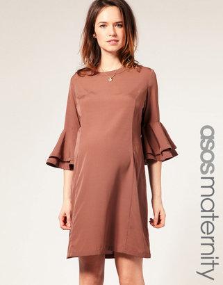 Asos Layered Sleeve Shift Dress