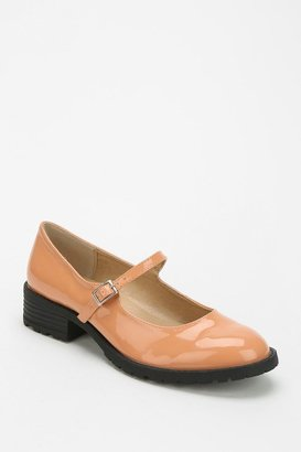 Urban Outfitters Cooperative Patent Heeled Mary Jane