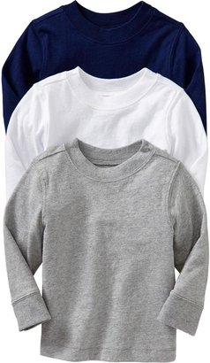 Old Navy Crew-Neck Tee 3-Packs for Baby