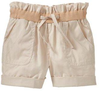 Gap Cuffed paperbag shorts