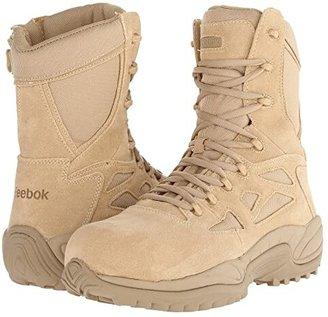 Reebok Work Rapid Response RB 8 CT (Tan) Men's Work Boots