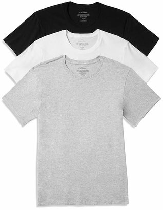Calvin Klein Cotton Classics Crew Neck Tees, Pack of 3 $37.50 thestylecure.com