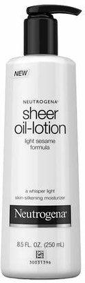 Neutrogena Body Lotion, Light Sesame Formula $5.29 thestylecure.com