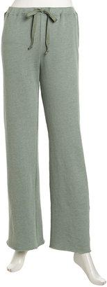 W by Wilt Wide-Leg Drawstring Sweatpants, Clover
