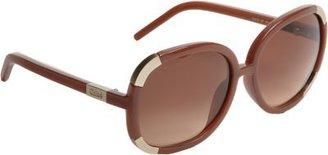 Chloé Colorblock Temple Sunglasses