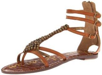 Sam Edelman Women's Ginger Gladiator Sandal,Saddle,9.5 M US