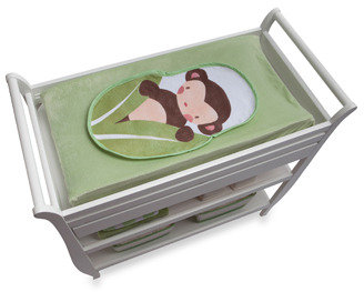 Boppy Heirloom Changing Pad Cover & Liner in Monkey