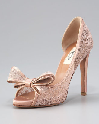 Valentino Couture Lace Platform d'Orsay
