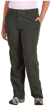 Columbia Plus Size Silver Ridge Convertible Pant (Gravel) - Apparel