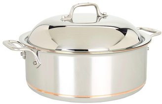 All-Clad Copper-Core 6 Qt. Round Roaster (Stainless Steel) - Home