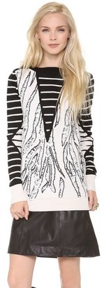 McQ by Alexander McQueen Alexander McQueen Combo Sweater