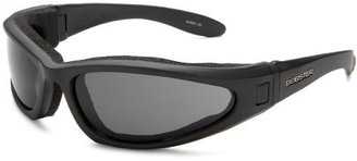 Bobster Eyewear Bobster Low Rider II Sport Sunglasses,Black Frame/3 Lenses (Smoked, Amber and Clear),one size