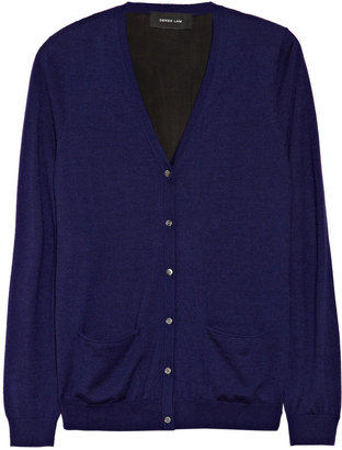 Derek Lam Cashmere and silk-blend jersey and georgette cardigan