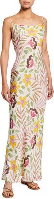 Rhode Resort Floral-Print Slip Dress
