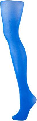 Topshop Blue 50 Den Opaque Tights