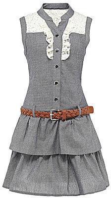 My Michelle 7-16 Chambray Dress