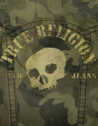 True Religion Danny Camo Western Jacket
