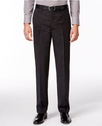 DKNY Black Pindot Pants Extra Slim Fit $175 thestylecure.com