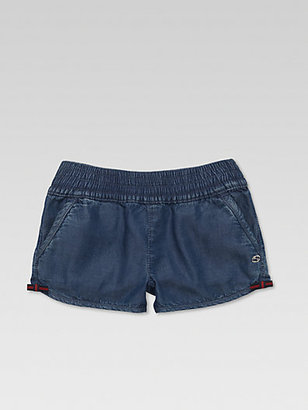 Gucci Little Girl's Denim Shorts
