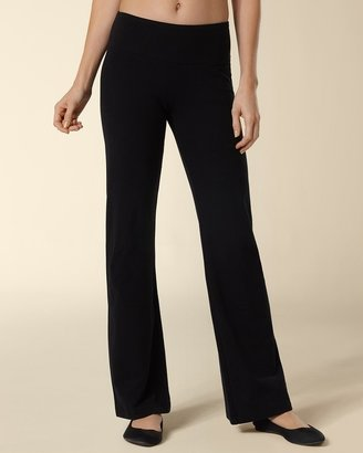 Soma Intimates Wide Waistband Bootcut Pant