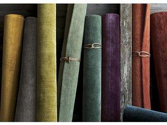Crate & Barrel Baxter Jade Green Wool Rug