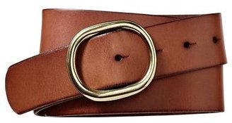 Gap Round buckle stud belt