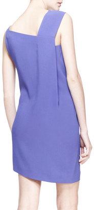 Roland Mouret Anser Asymmetric-Shoulder Dress