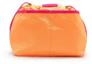 MANGO TOUCH - Contrast trimming big cosmetic bag