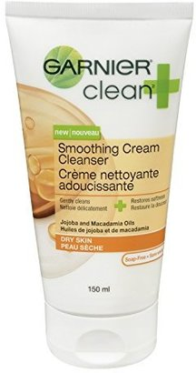 Garnier Clean+ Smoothing Cream Cleanser For Dry Skin , 5 Fluid ounces $7.99 thestylecure.com