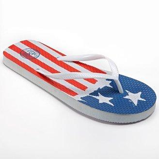 So ® zori american flag flip-flops