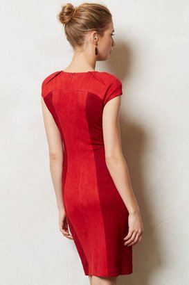 Anthropologie Rouged Pencil Dress