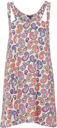 Topshop White Paisley Coverup