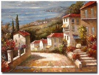 "Trademark fine art 14"" x 19"" ""Home in Tuscany"" Canvas Wall Art"