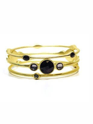 Style Tryst Crystal Bangle Set