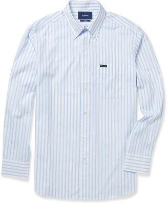 Façonnable Striped Button-Down Collar Cotton Shirt